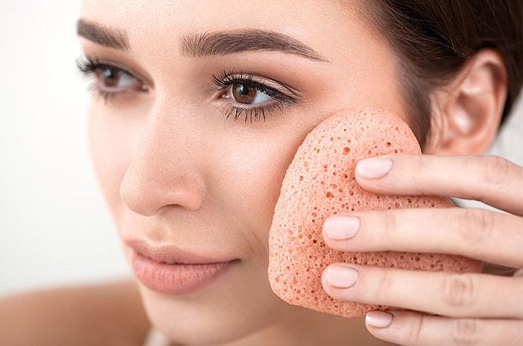 Пудра для лица для нюдового макияжа
