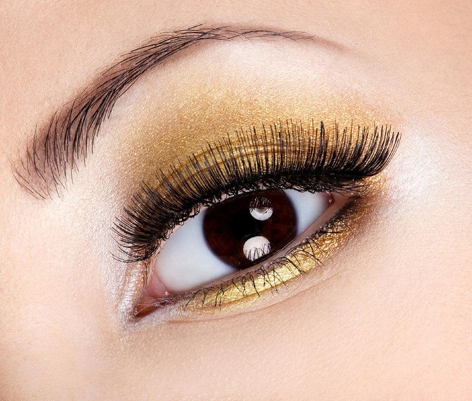 Как выбрать тени для карих глаз