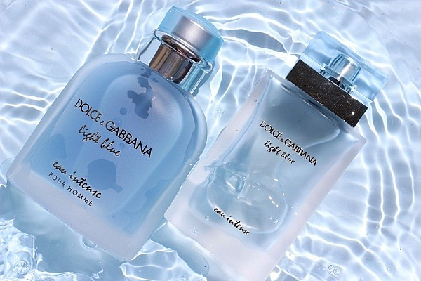 Dolce Gabbana light blue intense