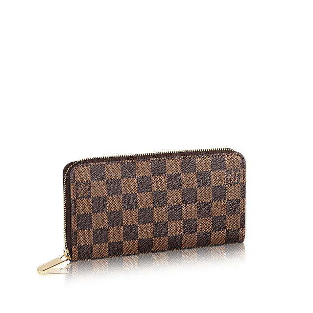 0af406617508 Louis Vuitton Damier Ebene Zippy - купить. Выгодная цена. Жми!