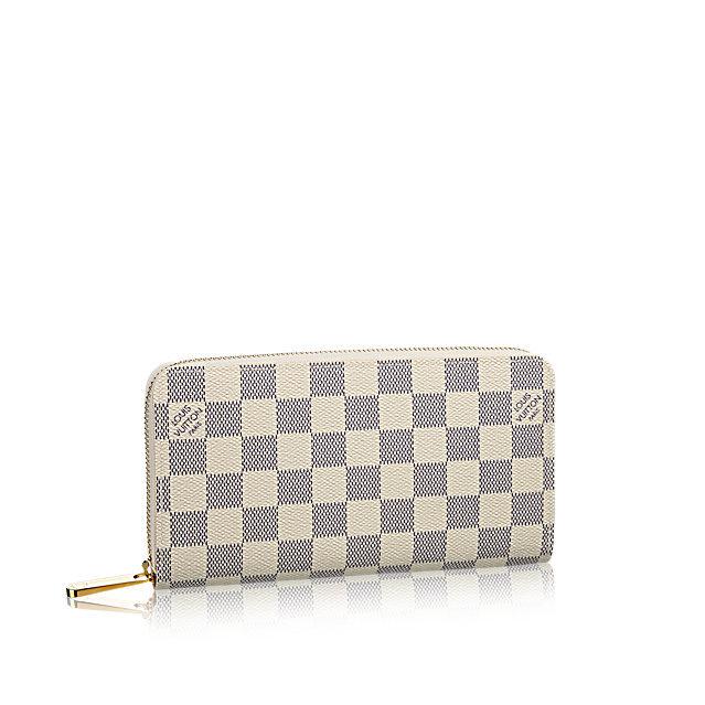 63472ac14f8b Louis Vuitton Damier Azur Zippy - купить. Выгодная цена. Жми!