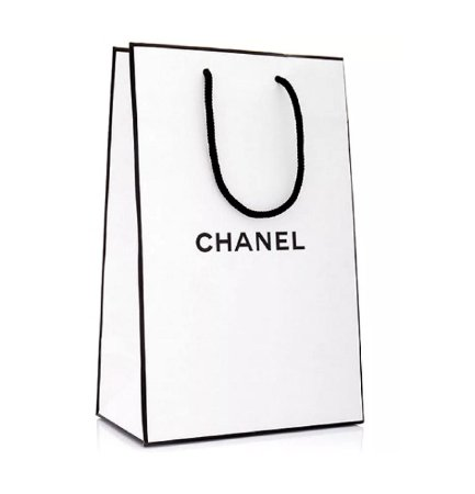 Chanel White Shopping Bag Пакет