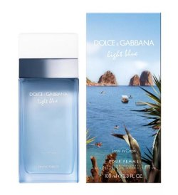 Dolce Gabbana Light Blue Love in Capri