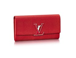 Louis Vuitton Capucines Red