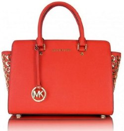 Michael Kors Selma Grommet Red