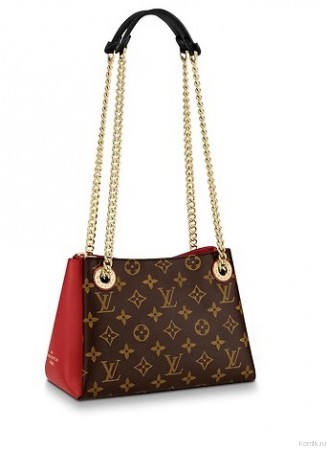 LOUIS VUITTON SURENE BB Red Сумка