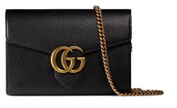 Gucci GG Marmont Chain Wallets