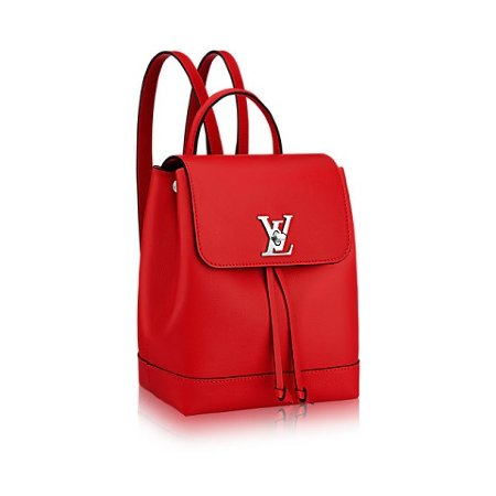 Louis Vuitton Lockme Backpack Red Рюкзак