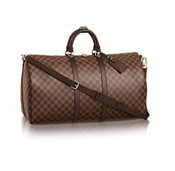 LOUIS VUITTON Damier Ebene Keepall