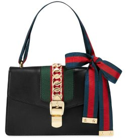 Gucci Sylvie Leather Black