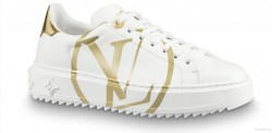 Louis Vuitton Time Out White/Gold